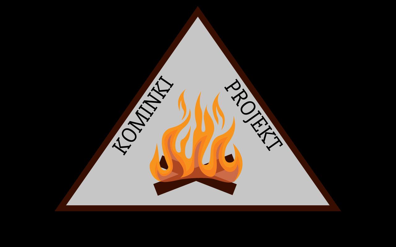 logo kominki projekt